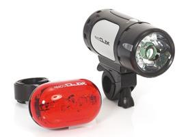 Fahrradbeleuchtung Komplett Set mit LED zu günstigen Preisen in unserem Online Versand Shop kaufen