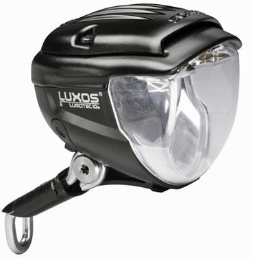 Wie wird der Frontscheinwerfer bei der Nabendynamo-Fahrradbeleuchtung angeschlossen?