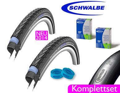 Komplett Sets Trekking / City / Cross Reifen Fahrradreifen zu günstigen Preisen in unserem Online Versand Shop kaufen