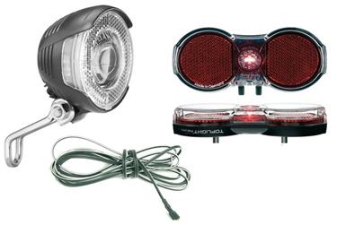 Vorteile und Nachteile: Batteriebeleuchtung oder Fahrrad-Dynamo?