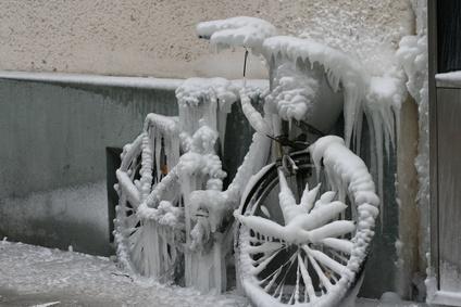 Eingefrorene Gangschaltung gangbar machen