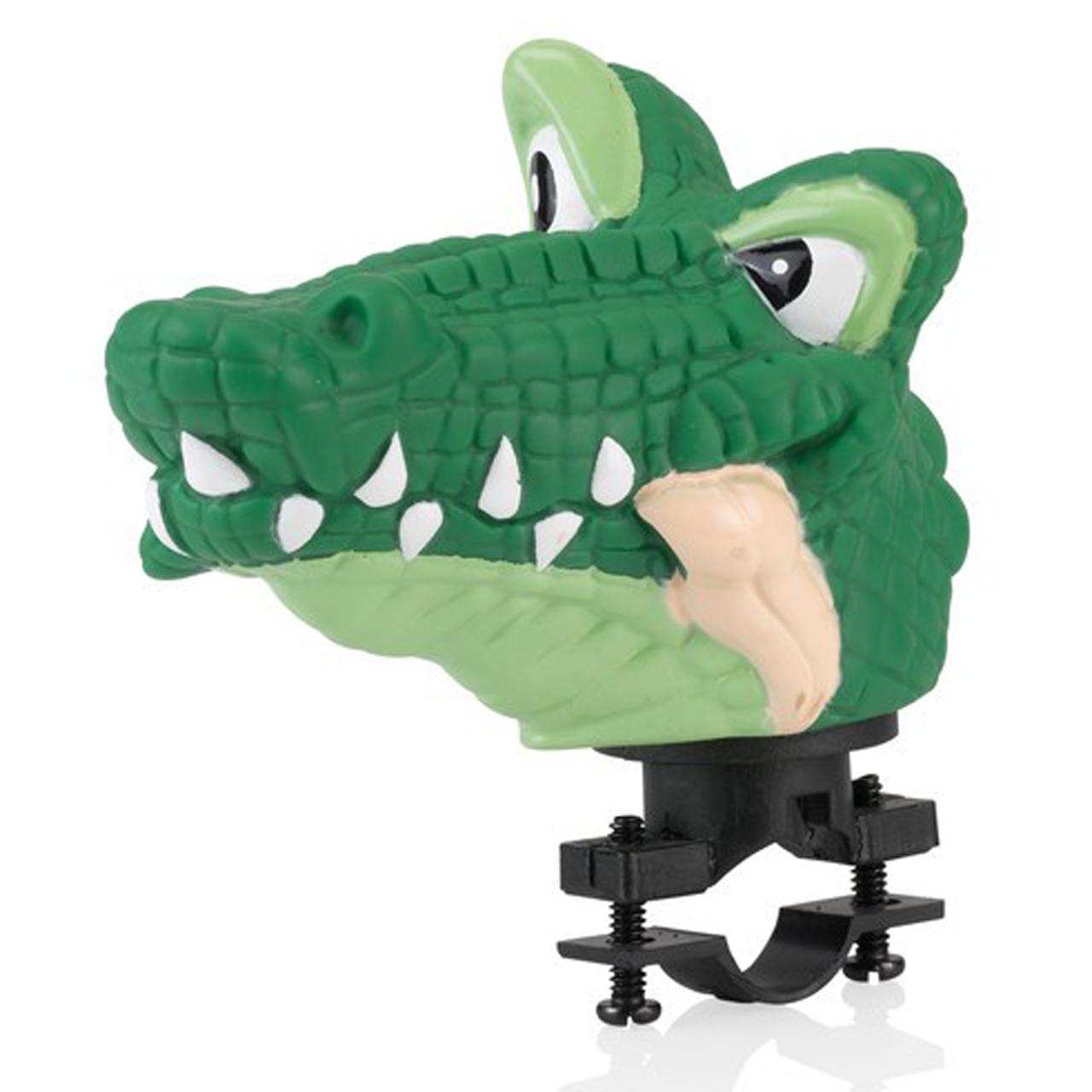 XLC Fahrrad Klingel Kinderklingel Fahrradklingel Kinderhorn Krokodil