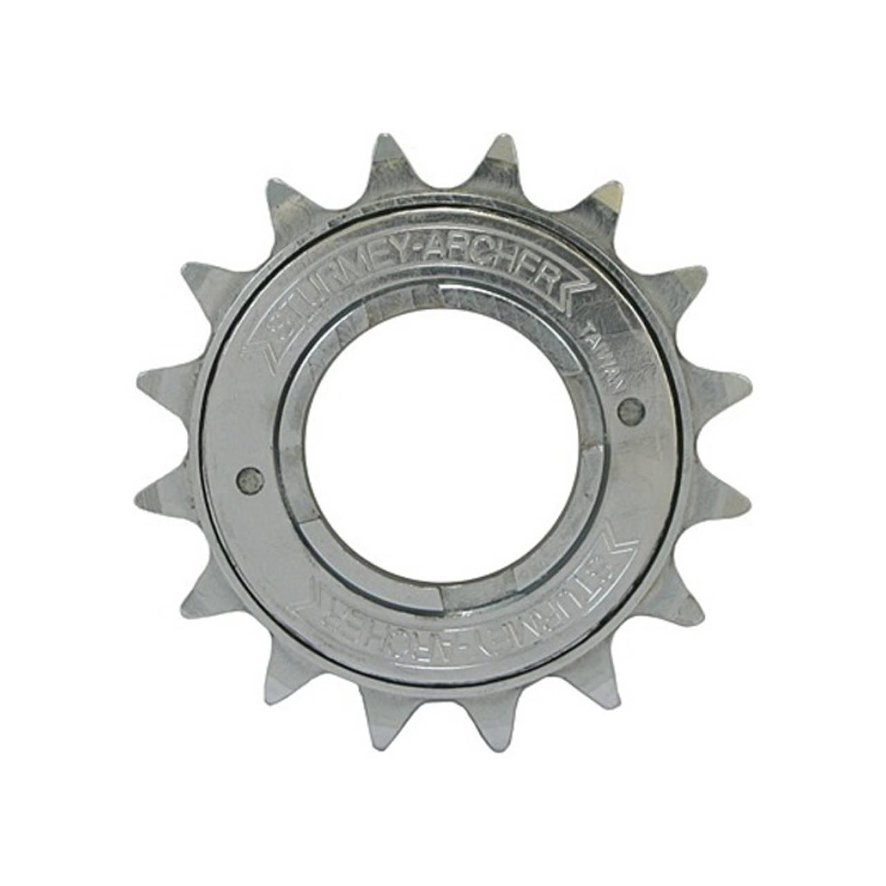 SunRace Freilaufkranz//Ritzel Schraubkranz 1fach 17 Z/ähne 1//2 x 3//32