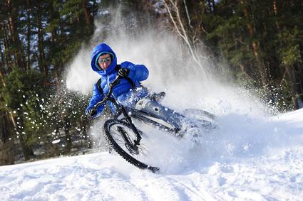 Maßnahmen gegen eingefrorene Fahrradbremsen